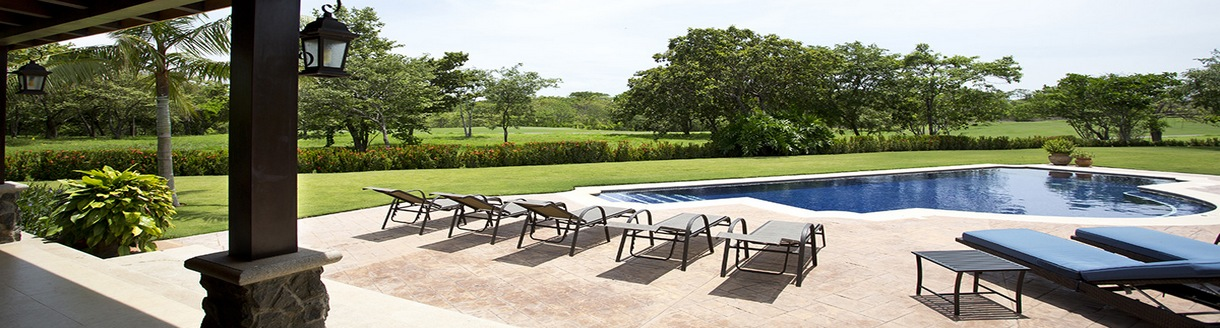 The panoramic views from the home on the golf course of Hacienda Pinilla