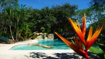 Property with 10 bungalows for sale in Costa Rica, only a few minutes' walk to the beach...